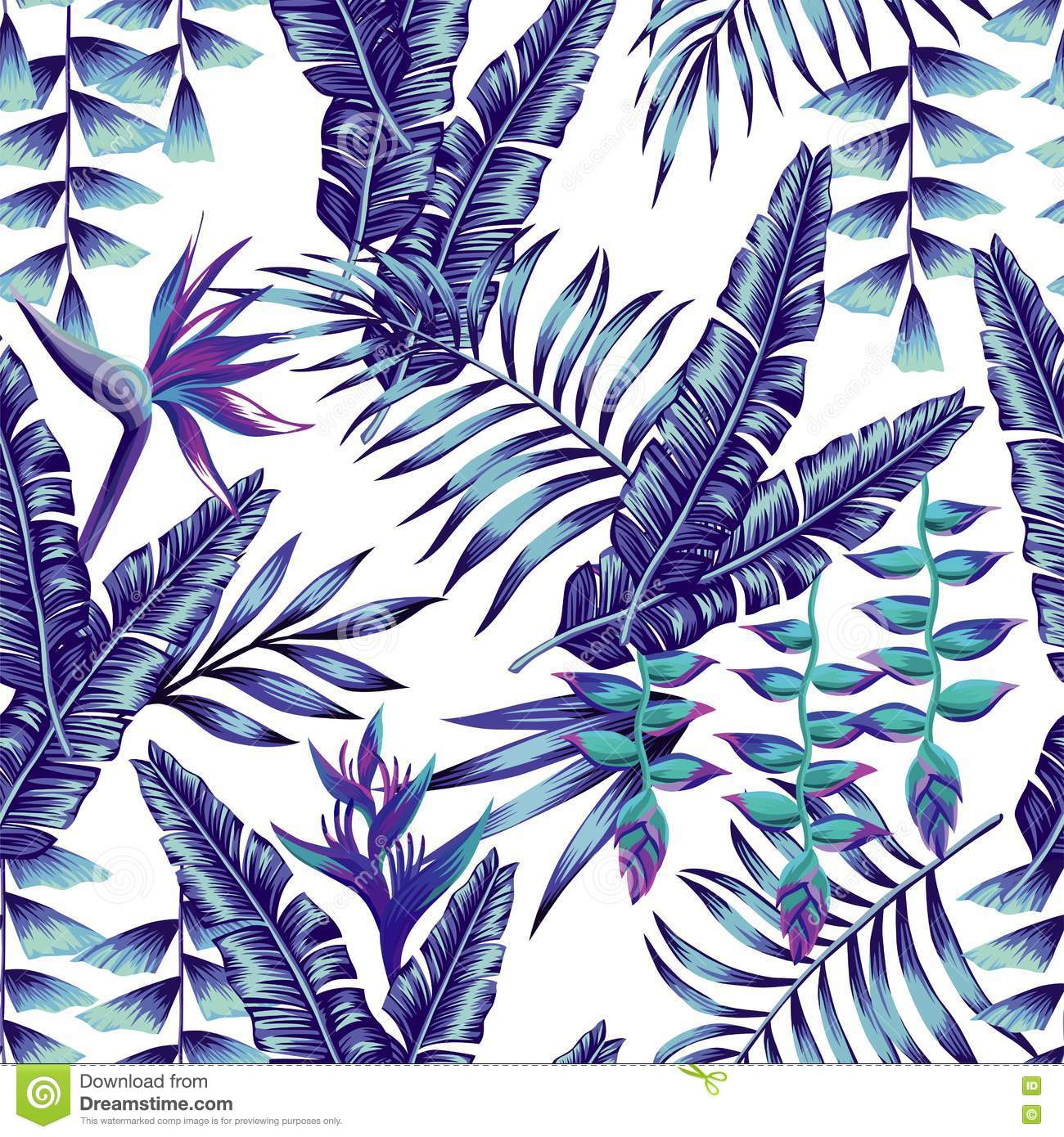 background of blue tropical - photo #21