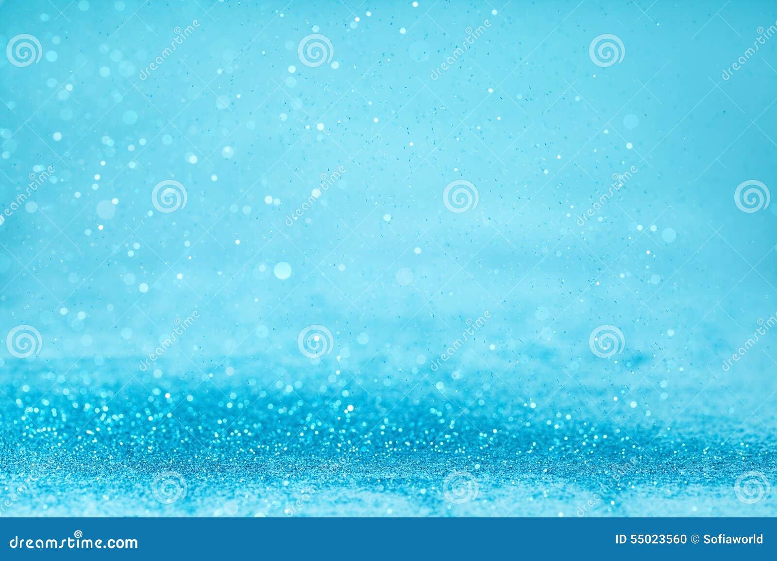 Blue twinkle background