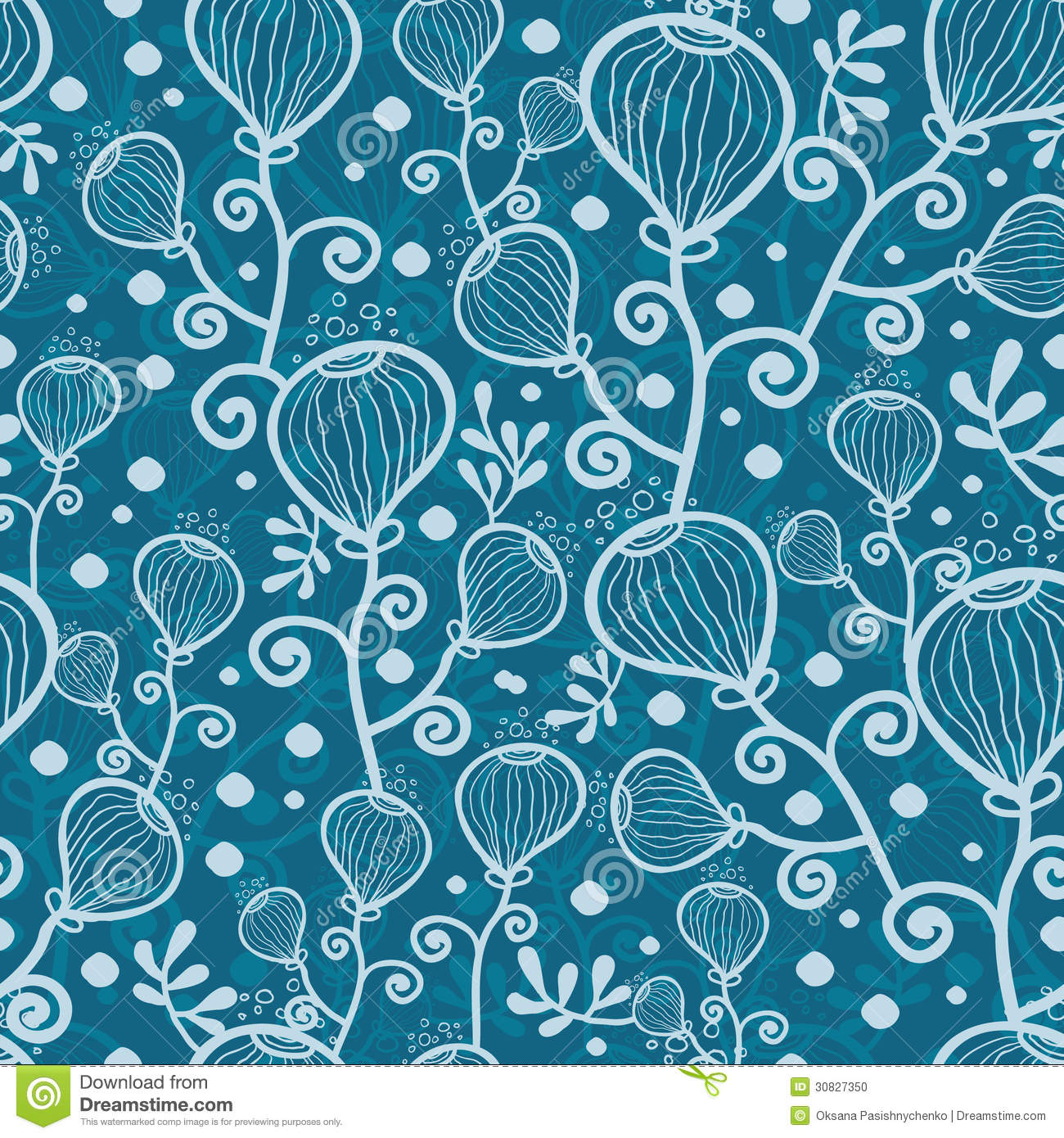 Underwater Pattern Royalty Free Stock Photography