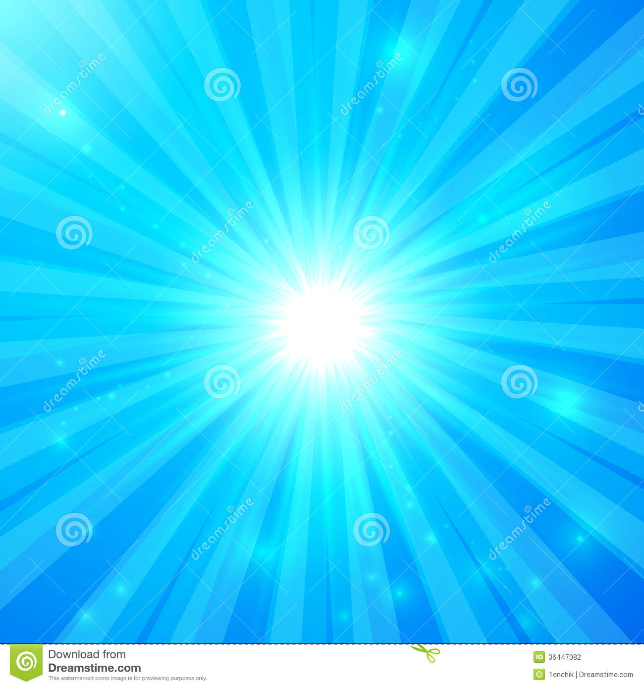 Blue Vector Shining Light Background Stock Photography ...