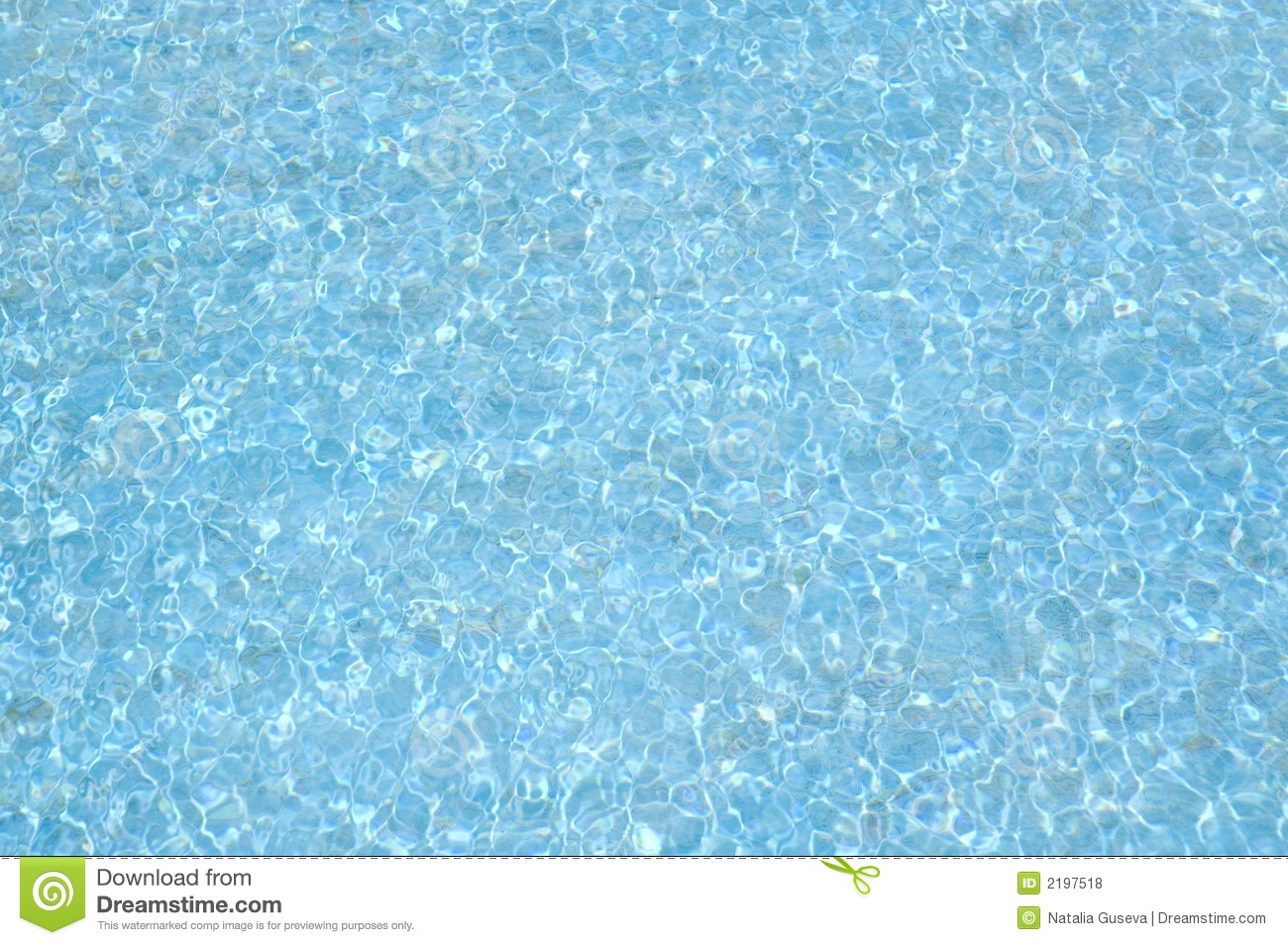 Blue Water Background Royalty Free Stock Photos