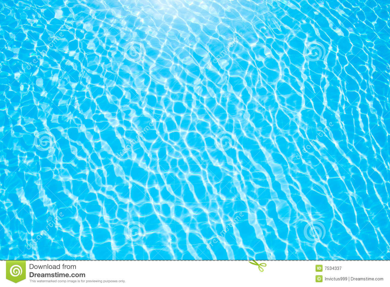 Blue water pattern of pool royalty free stock photography for Object pool design pattern