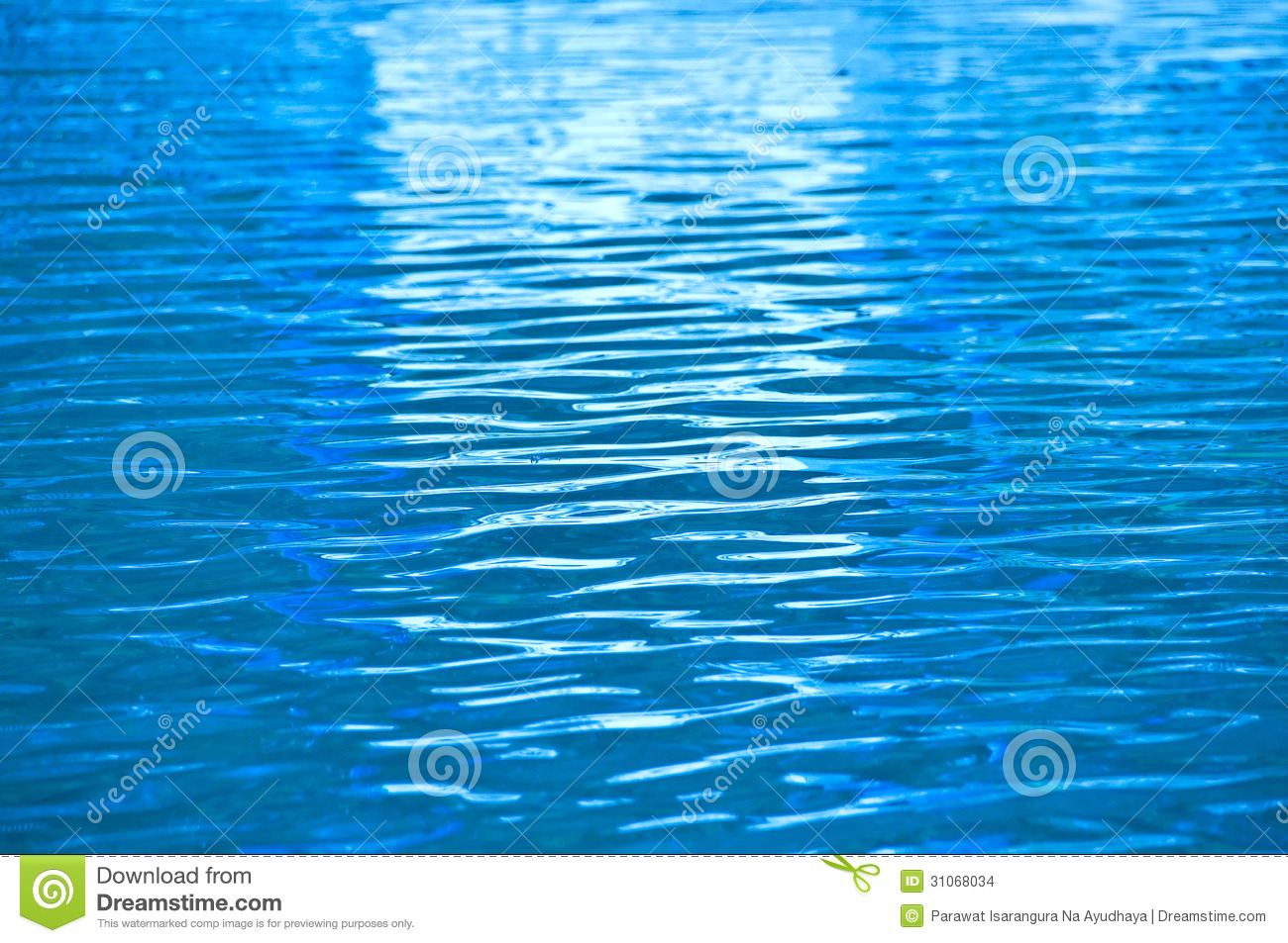 Blue Water Ripple Stock Images Image 31068034
