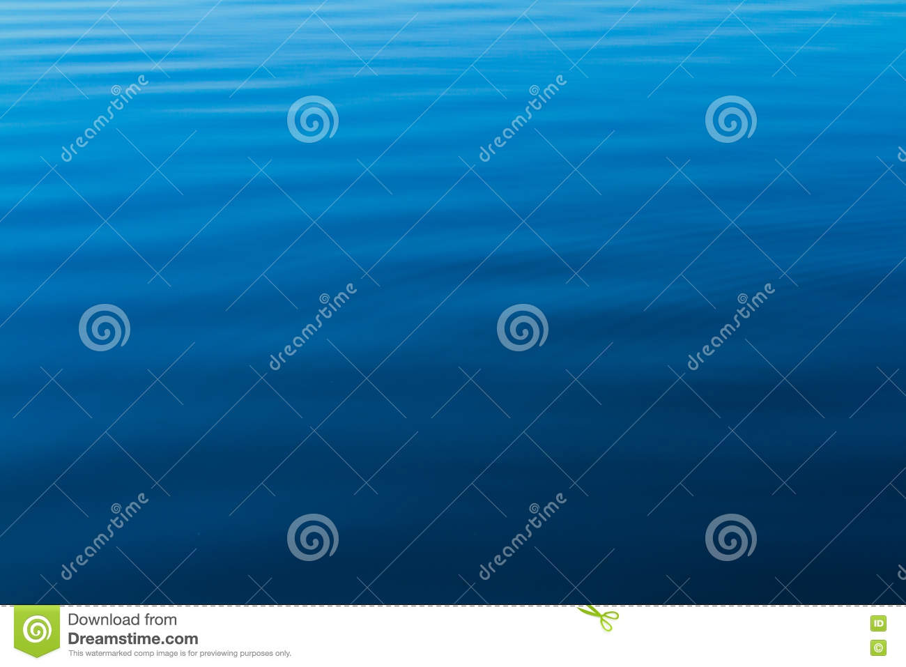 Blue water ripples from the ocean