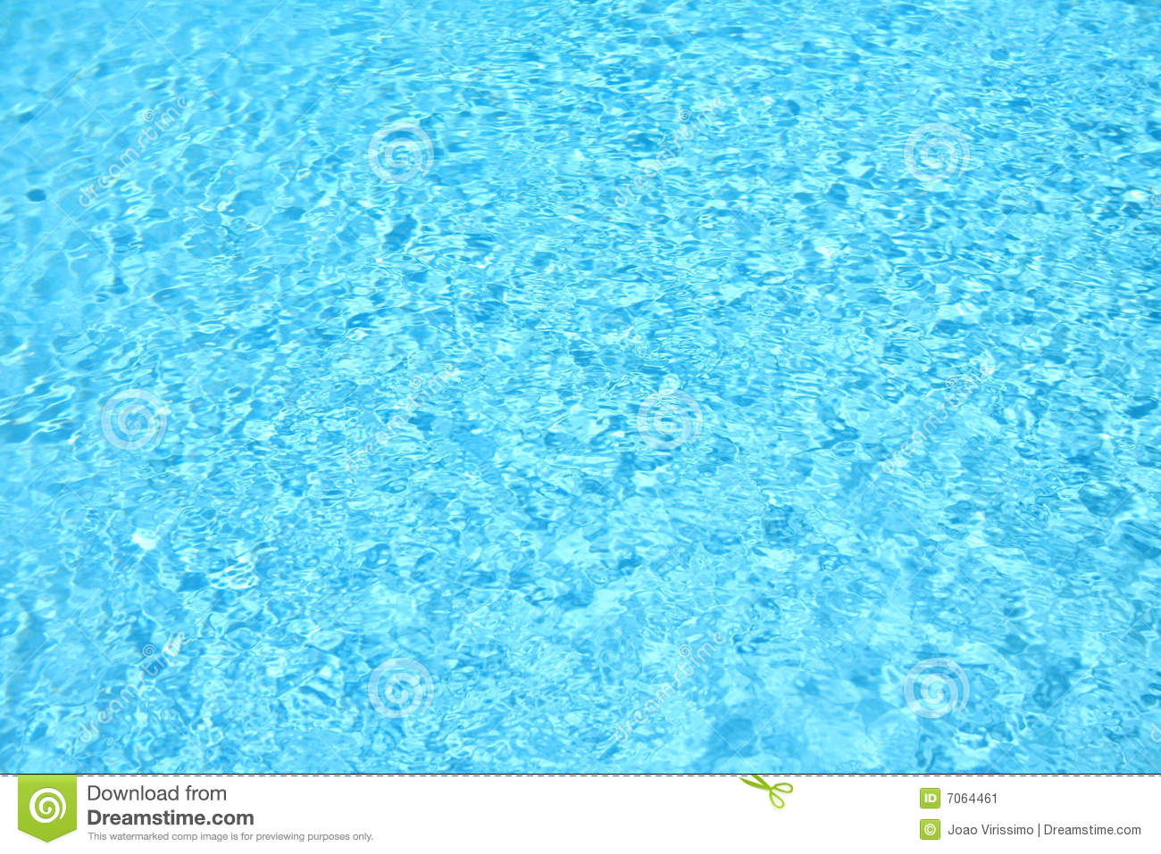 Blue Water Swimming Pool Background Stock Image Image 7064461