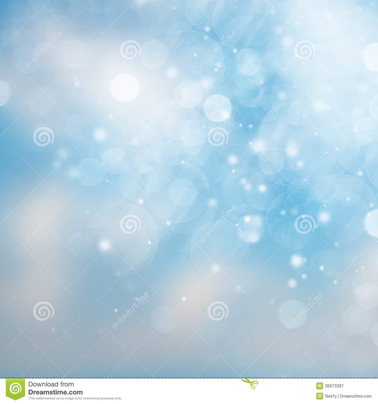 Blue And White Abstract Sky Background Stock Illustration