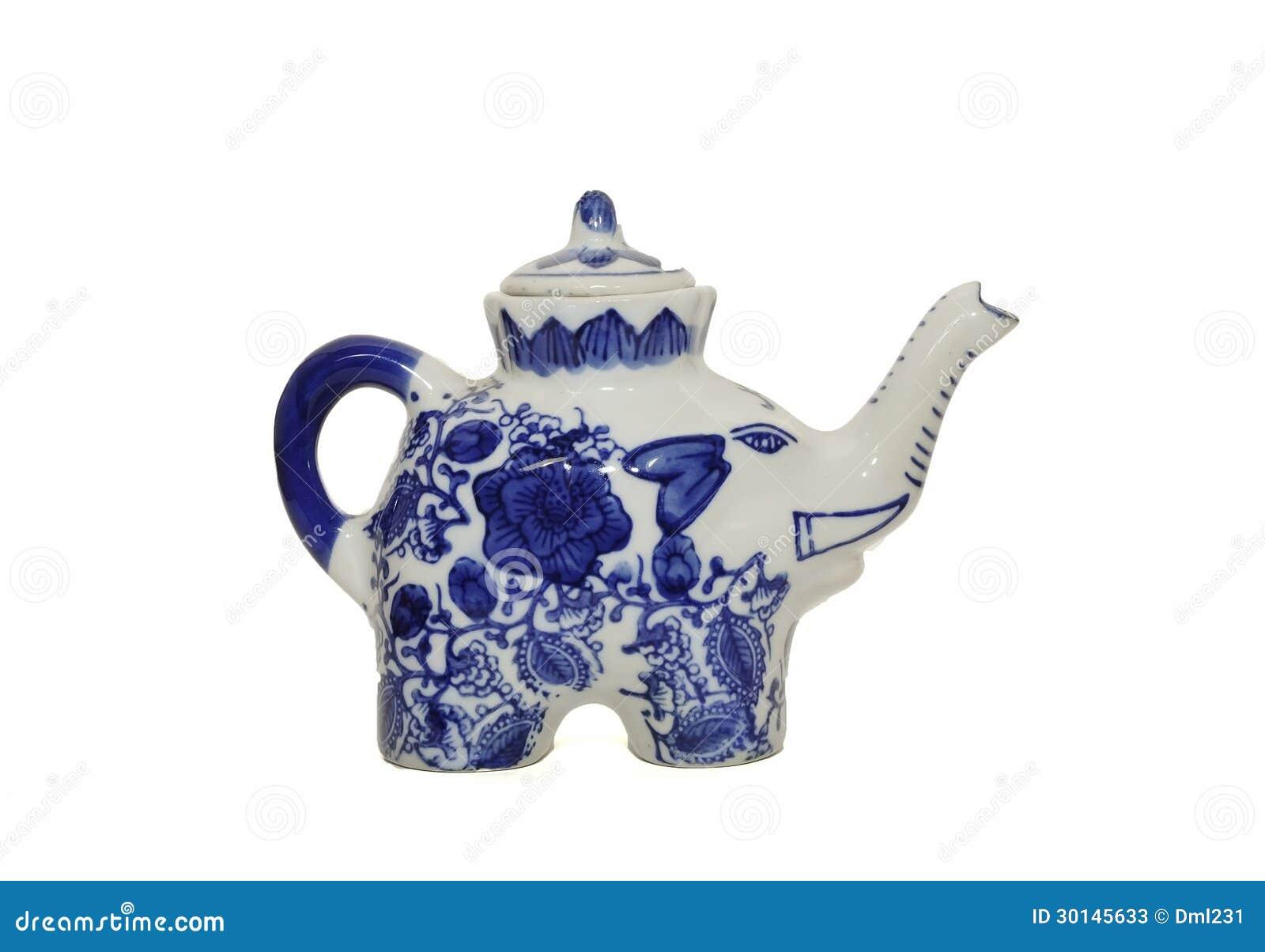 Ceramic elephant teapot stock photos image 30145633 - Elephant shaped teapot ...