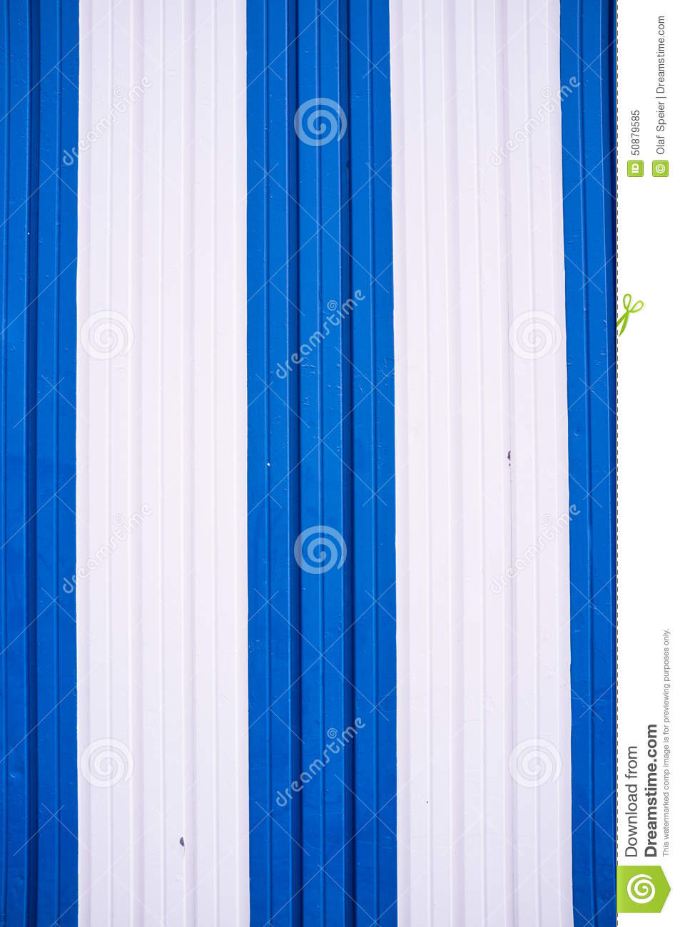 Blue and white stock photo image 50879585 for Metal door paint colors