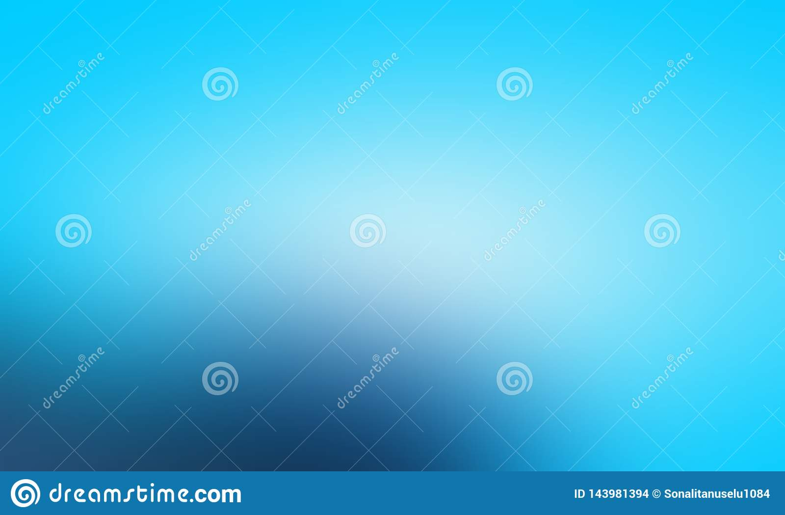Blue And White Pastel Colors Abstract Blur Background