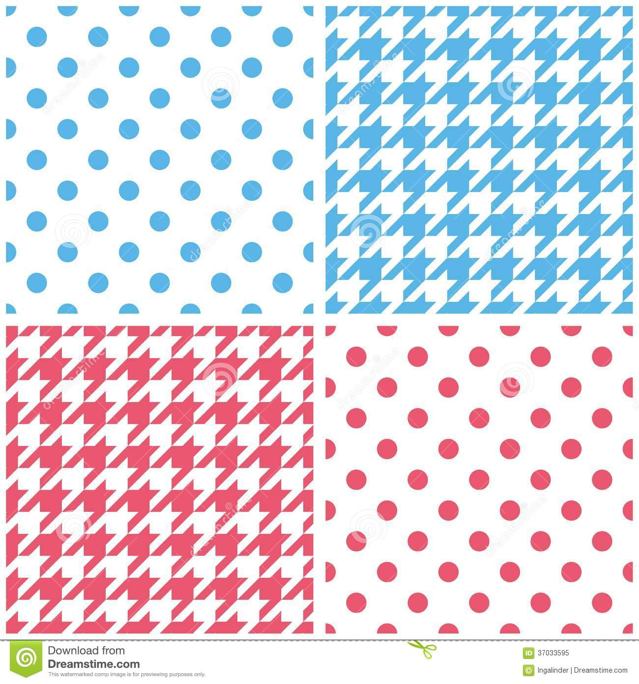 Can I Put Wallpaper On Top Of Wallpaper: Blue, White And Pink Vector Background Set Stock Vector