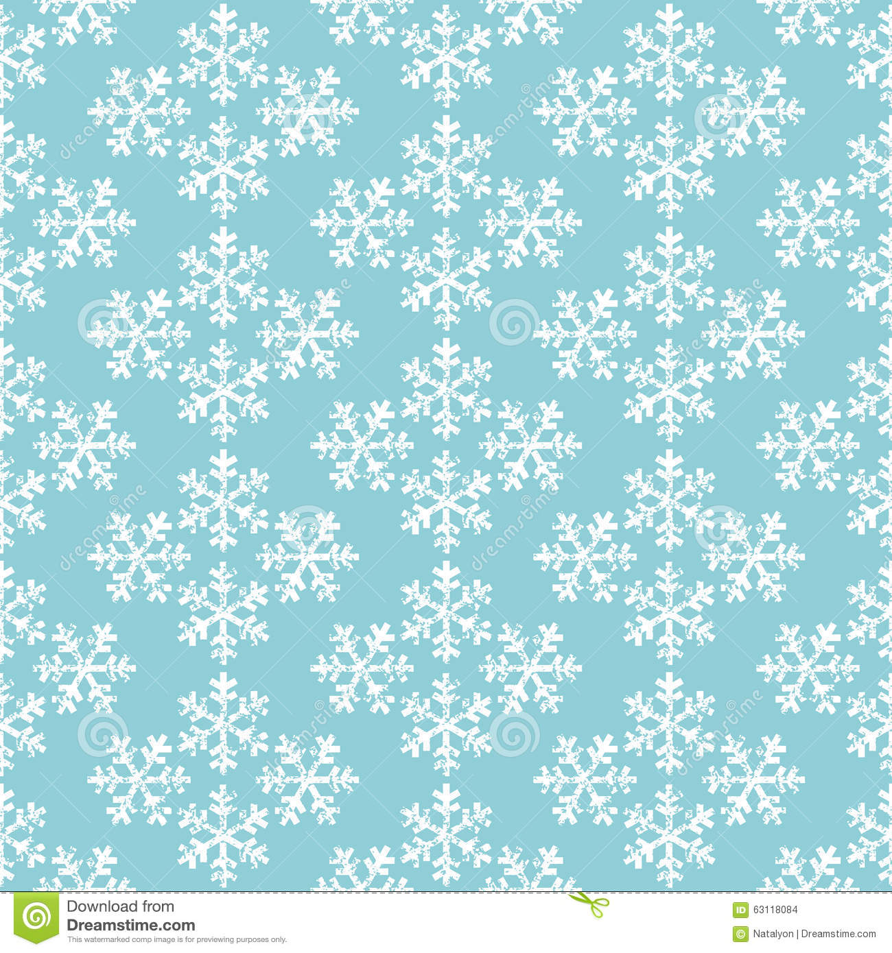 Teal Christmas Wrapping Paper