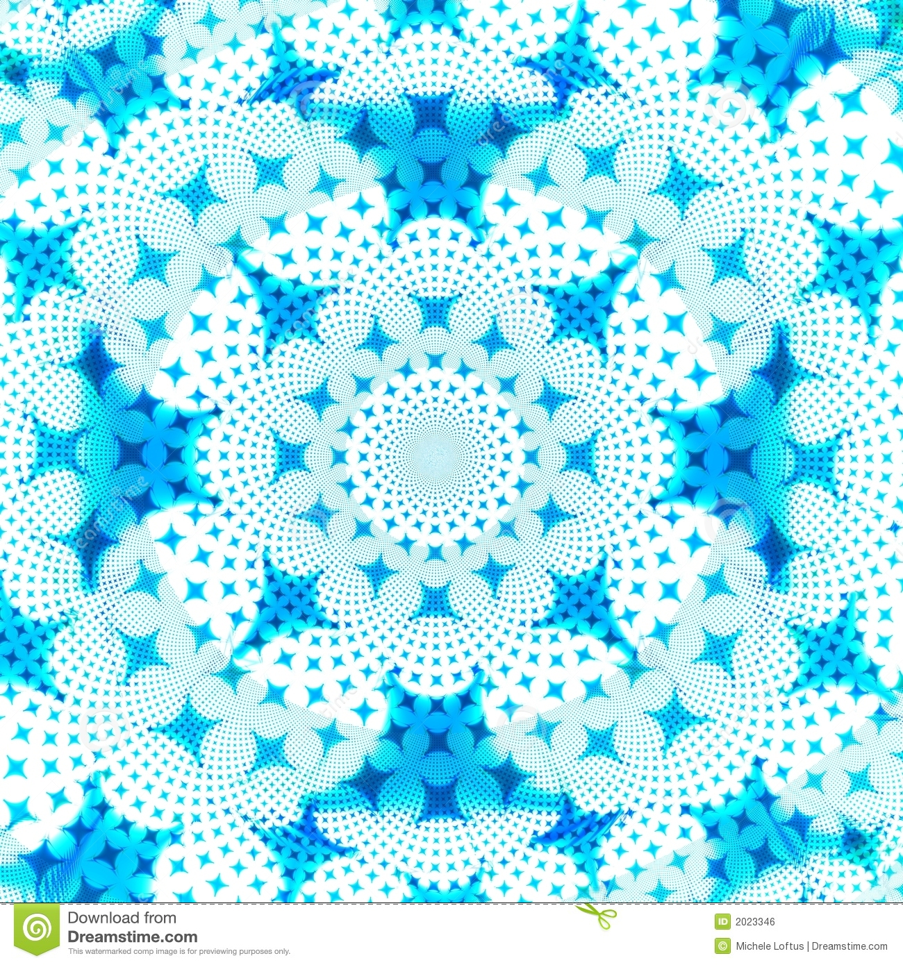Blue And White Star Abstract Background Design Template Stock