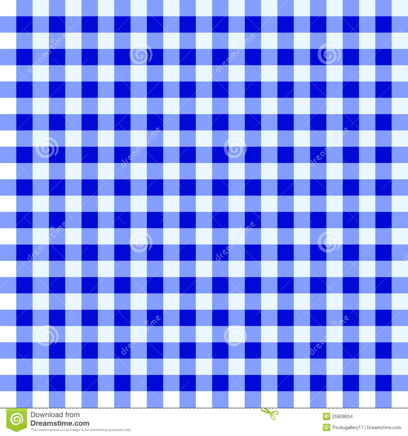 Bon Download Blue And White Tablecloth Stock Vector. Illustration Of Checkered    25808654