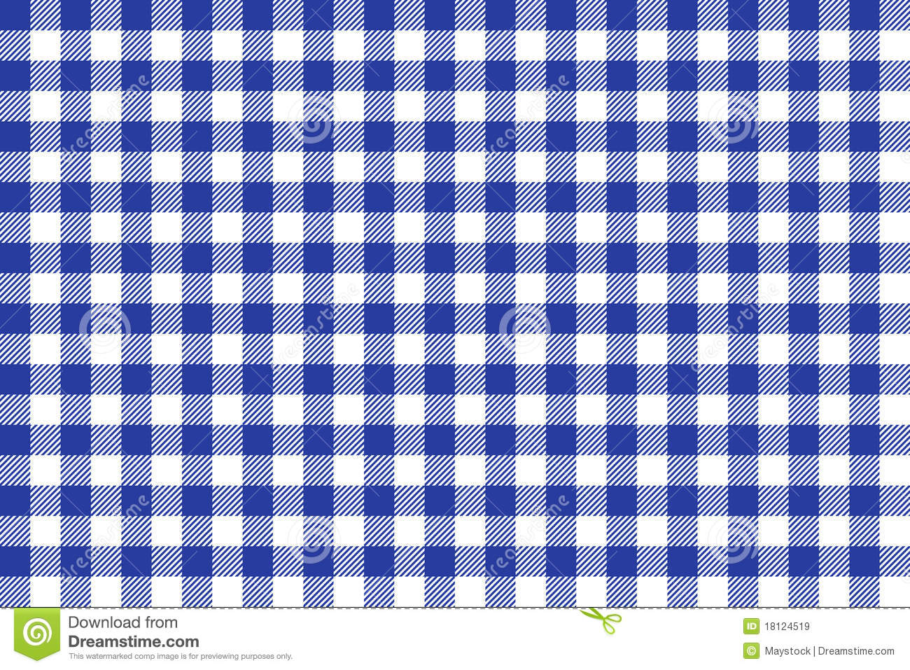 Blue And White Tablecloth Square Texture Wallpaper Royalty