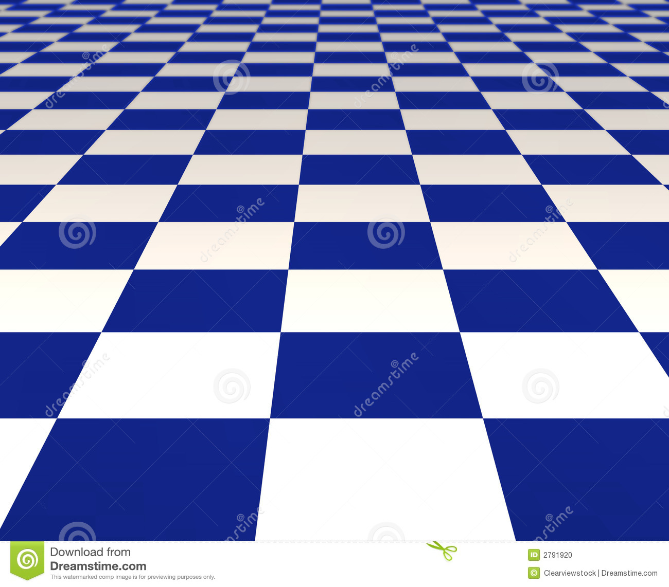 Blue And White Tiles Stock Illustration Illustration Of