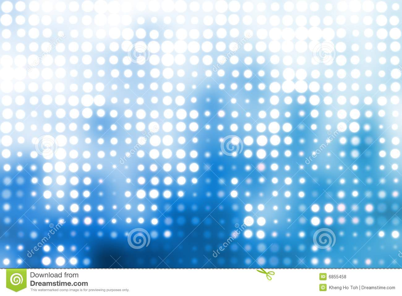 Blue And White Trendy Orbs Abstract Background Royalty Free Stock