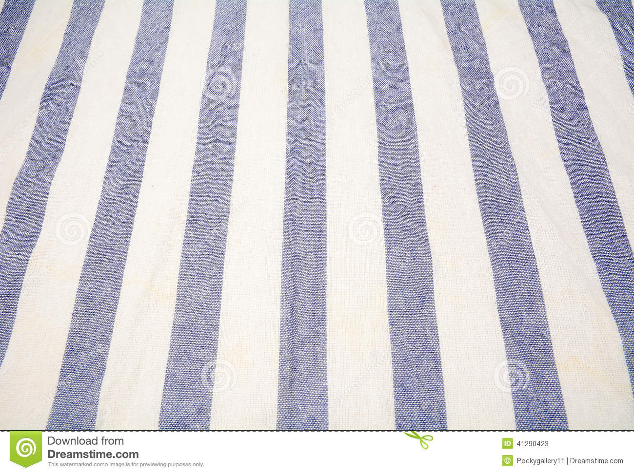 Background Blue Striped Tablecloth White ...