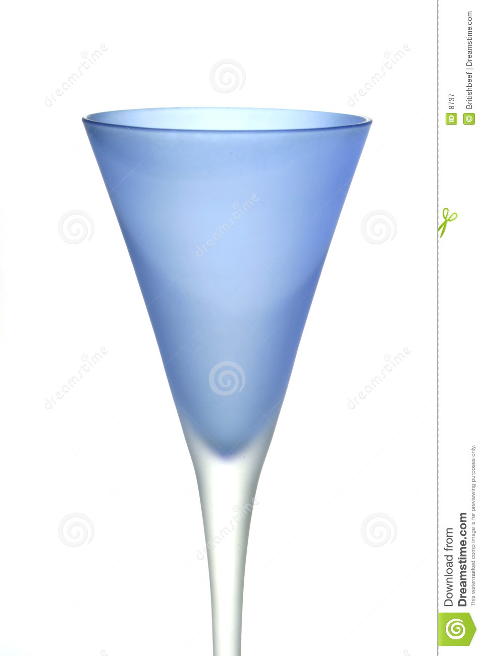 Download Blue wine glass stock image. Image of drink, alcohol, blue - 8737