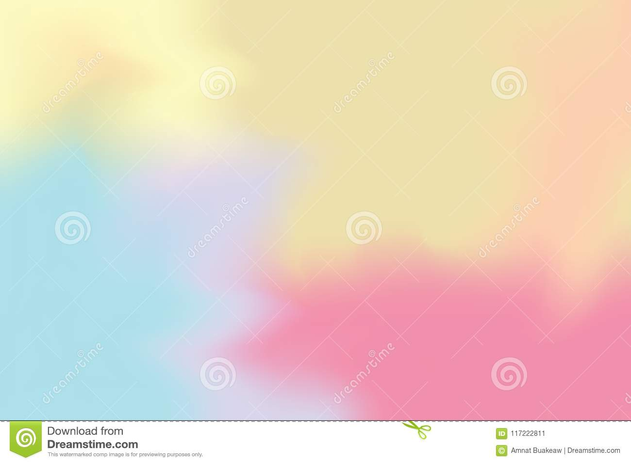 blue yellow pink soft color mixed background painting art pastel