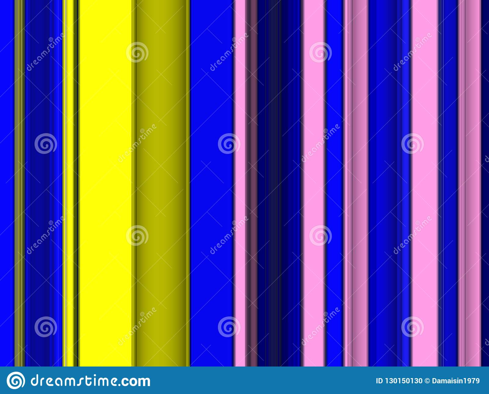 blue yellow pink vivid shapes background abstract colorful
