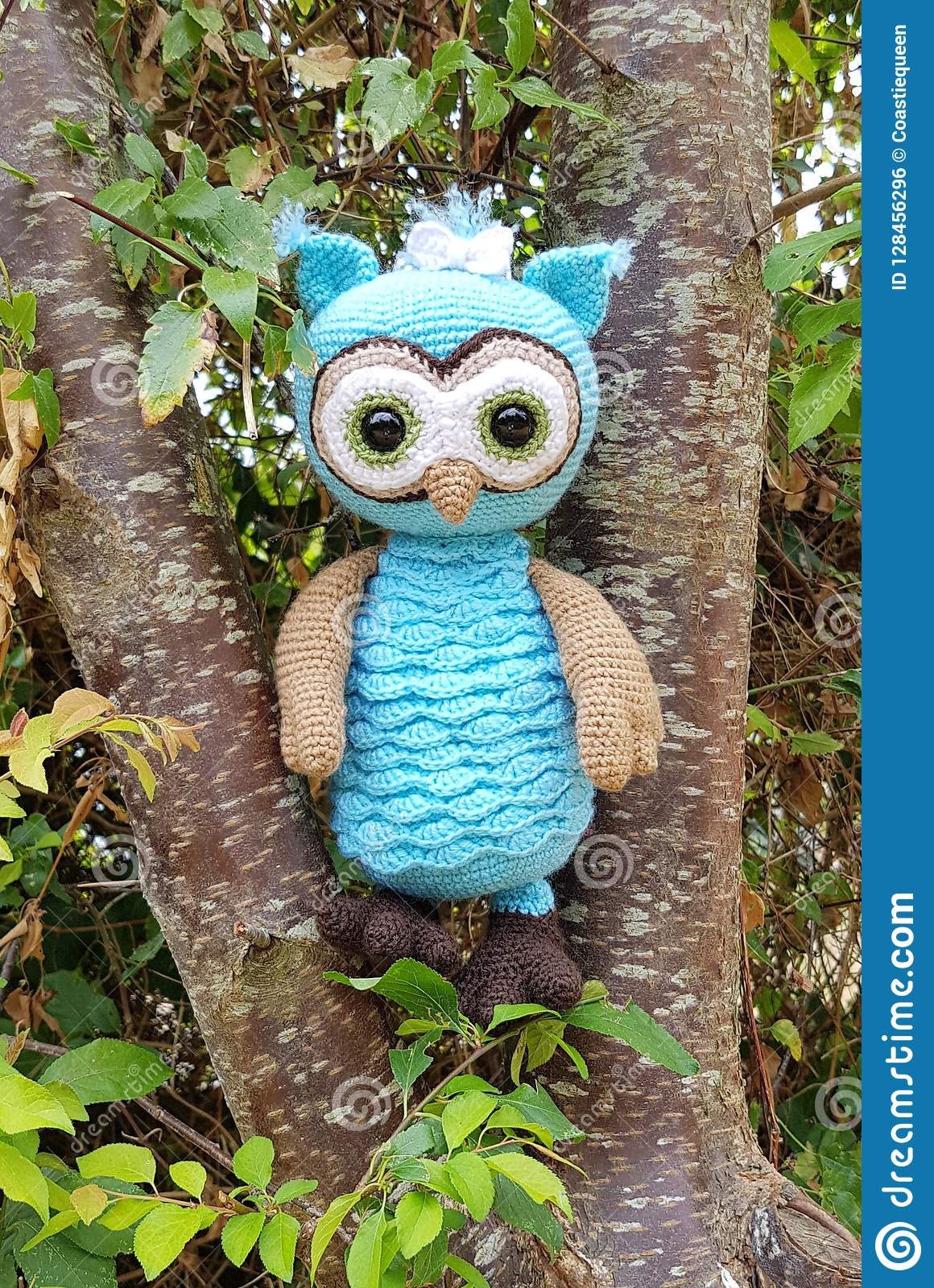 Bluebell The Owl Stock Photo Image Of Design Passion 128456296