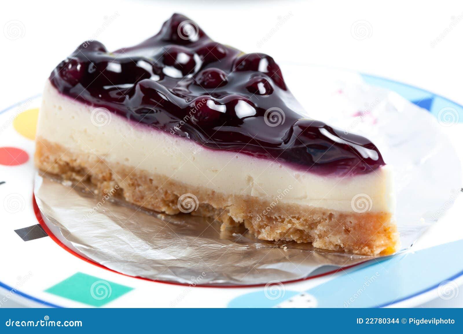 Blueberry Cheesecake Stock Photo Image Of Fruit