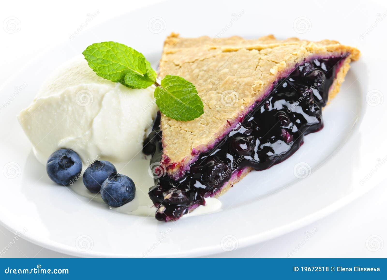 Пирог с черникой в собственном соку рецепт