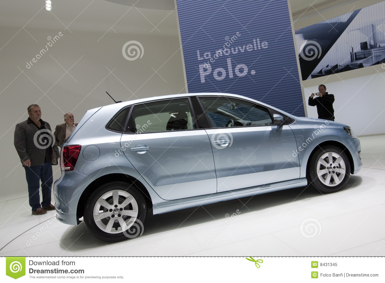 Bluemotiongeneva polo 2009 volkswagen