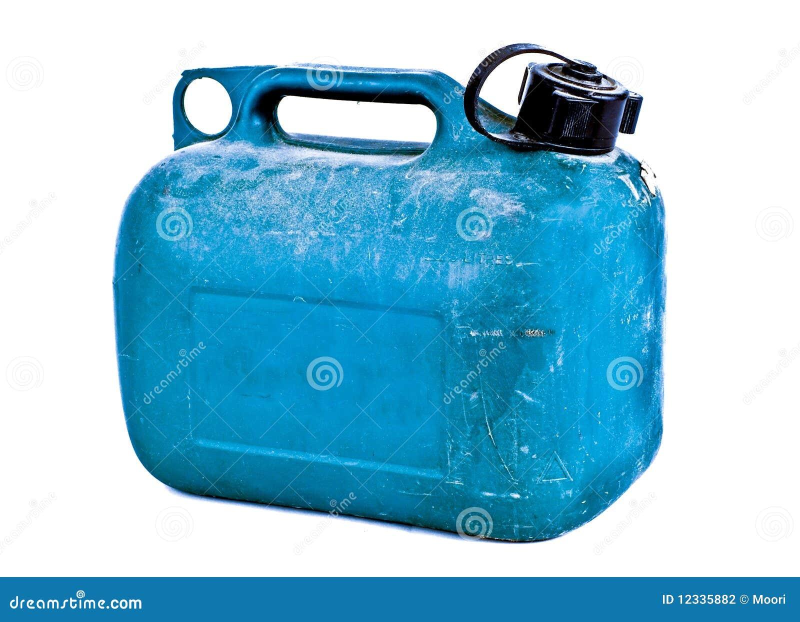 Bluen kan gas plast-