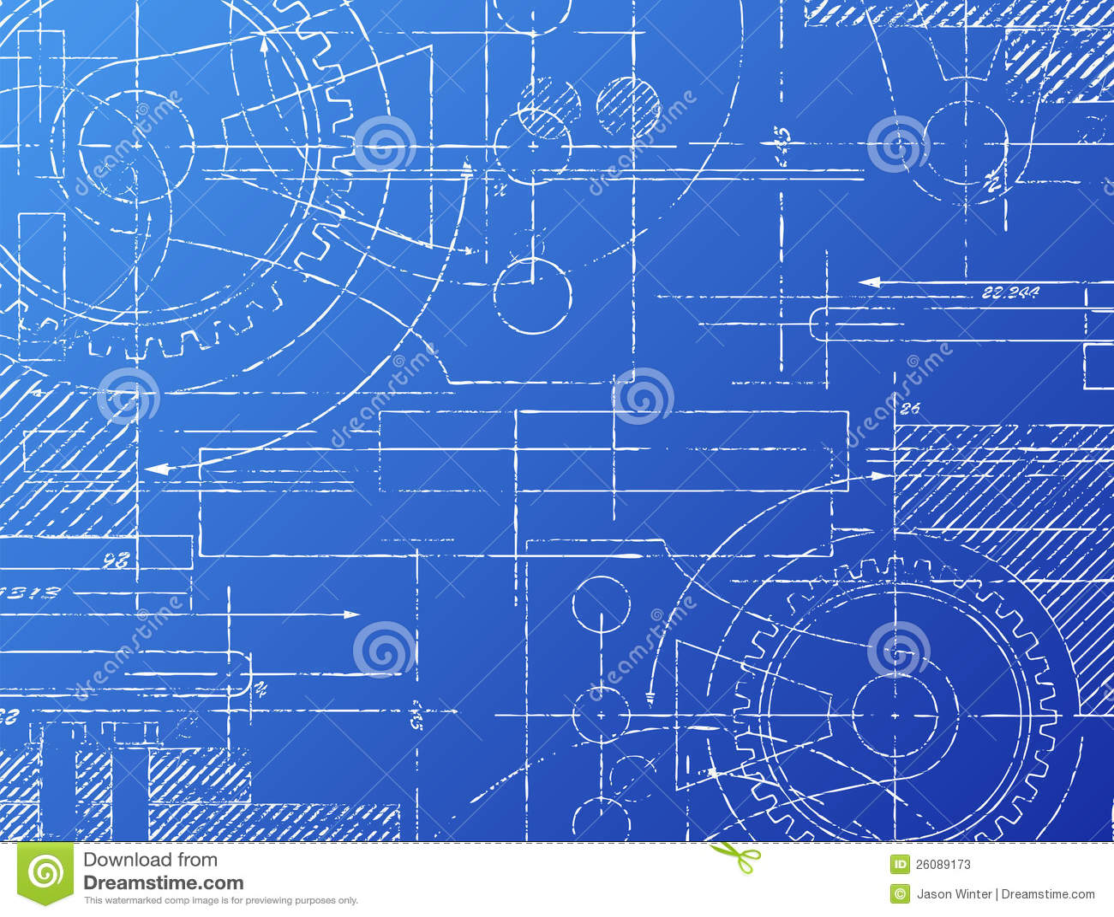 Blueprint stock vector illustration of design illustration 26089173 blueprint malvernweather Choice Image