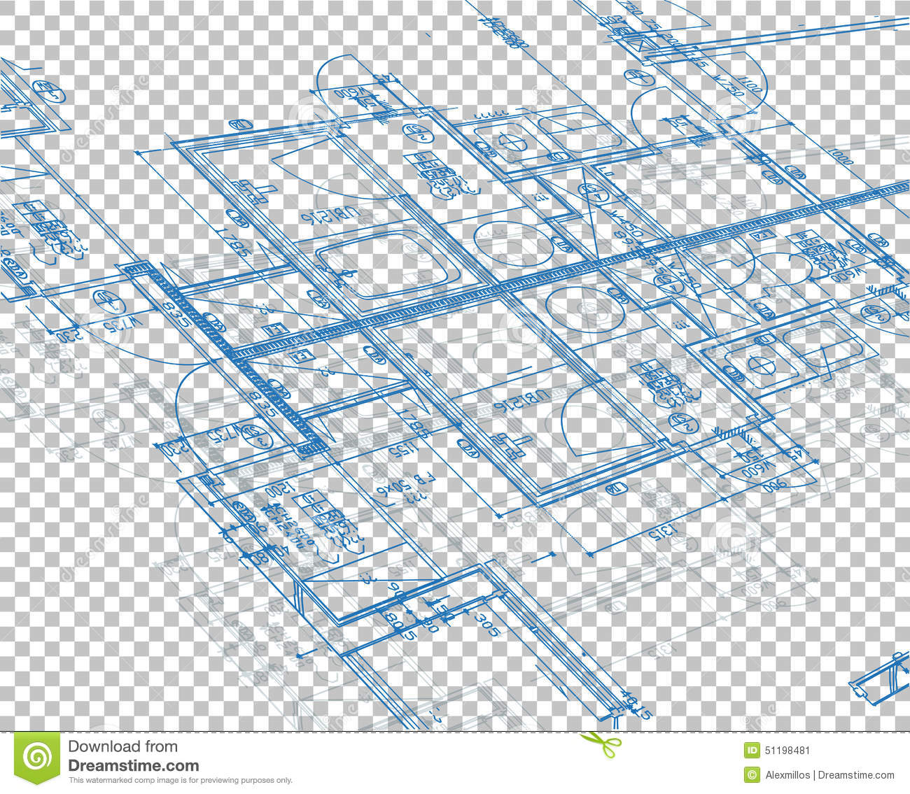 Blueprint blank layer background stock illustration illustration download blueprint blank layer background stock illustration illustration of built floor 51198481 malvernweather Image collections