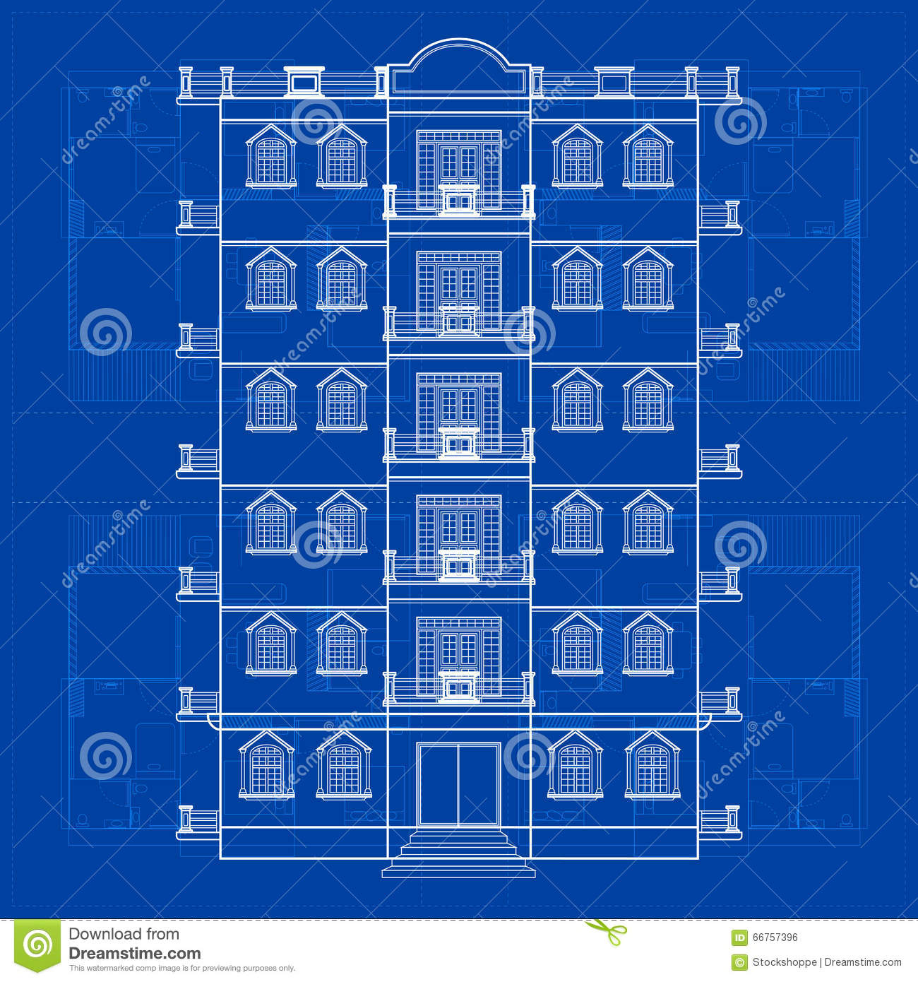 Blueprint of building stock vector illustration of layout 66757396 download blueprint of building stock vector illustration of layout 66757396 malvernweather Choice Image