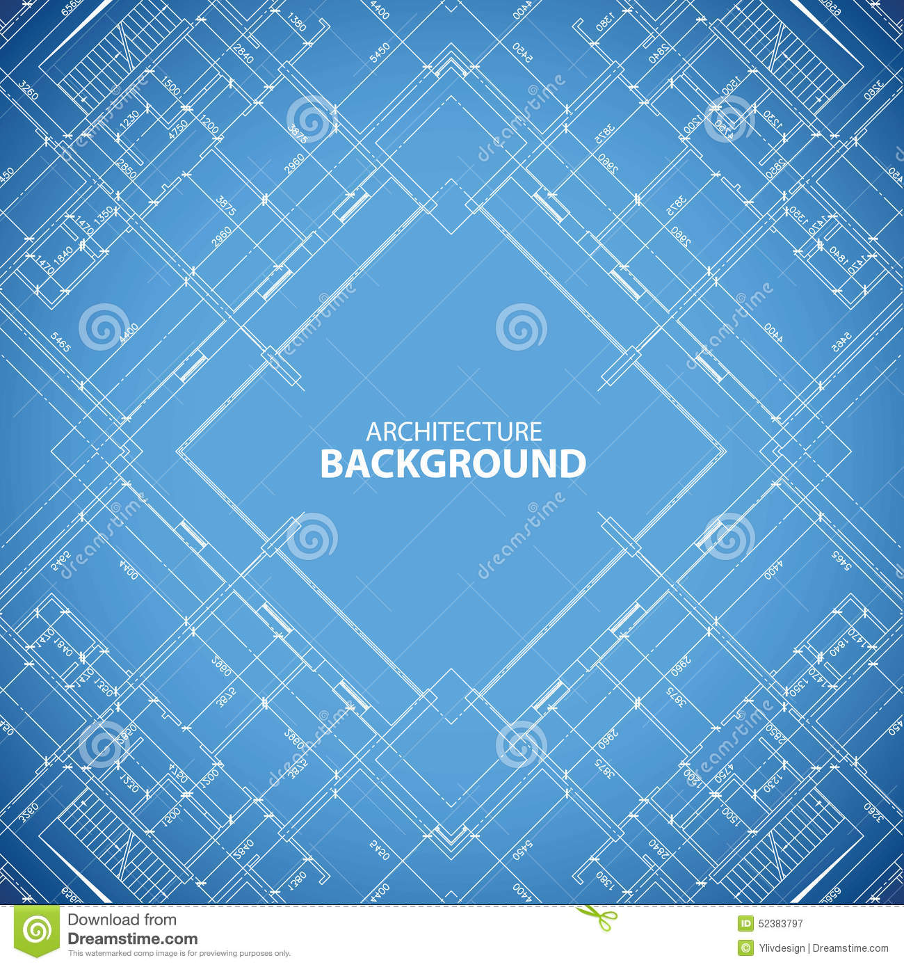 Blueprint building structure background stock vector illustration blueprint building structure background malvernweather