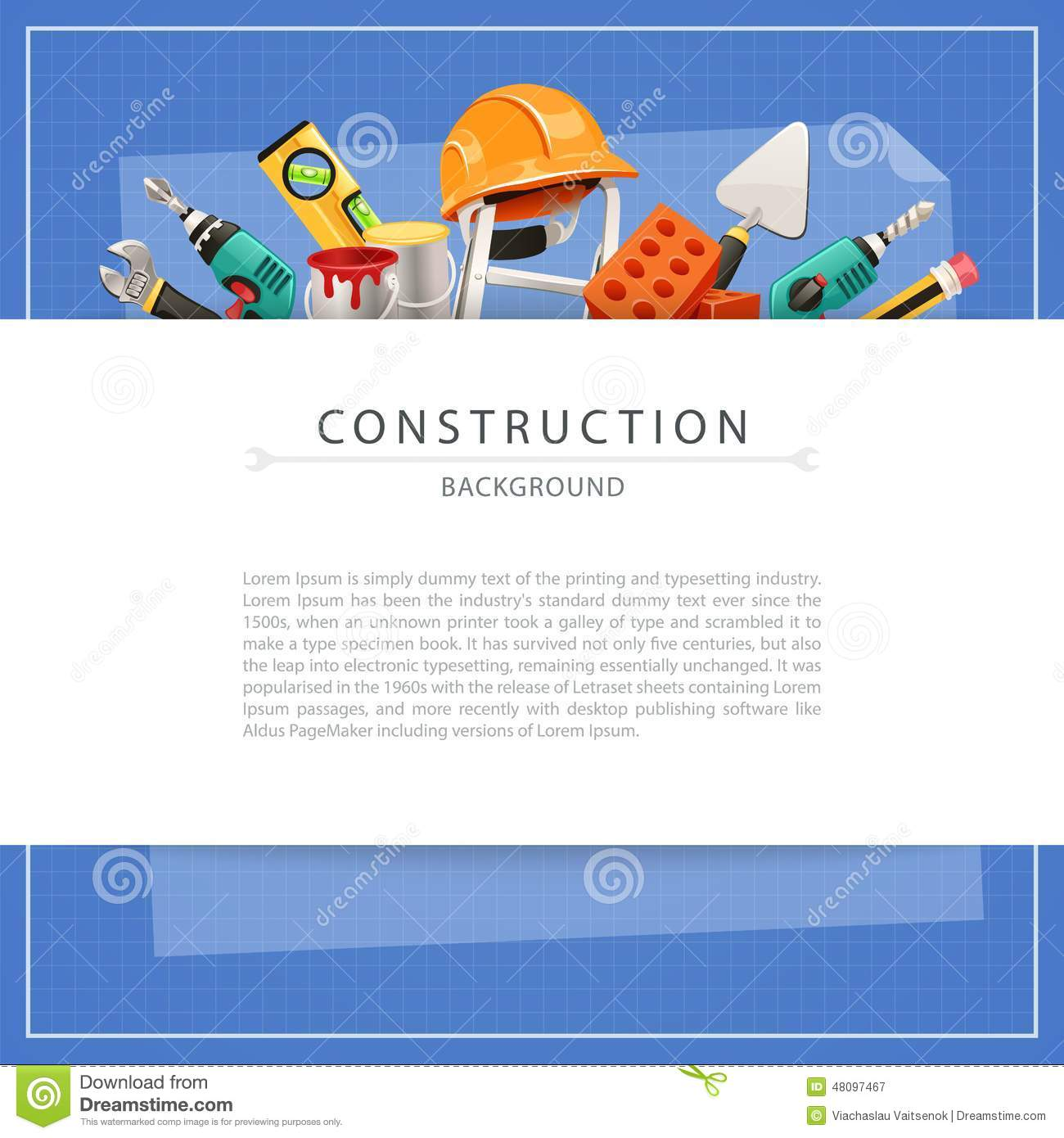 Blueprint construction background with copy space stock blueprint blueprint construction background with copy space stock blueprint construction malvernweather Images