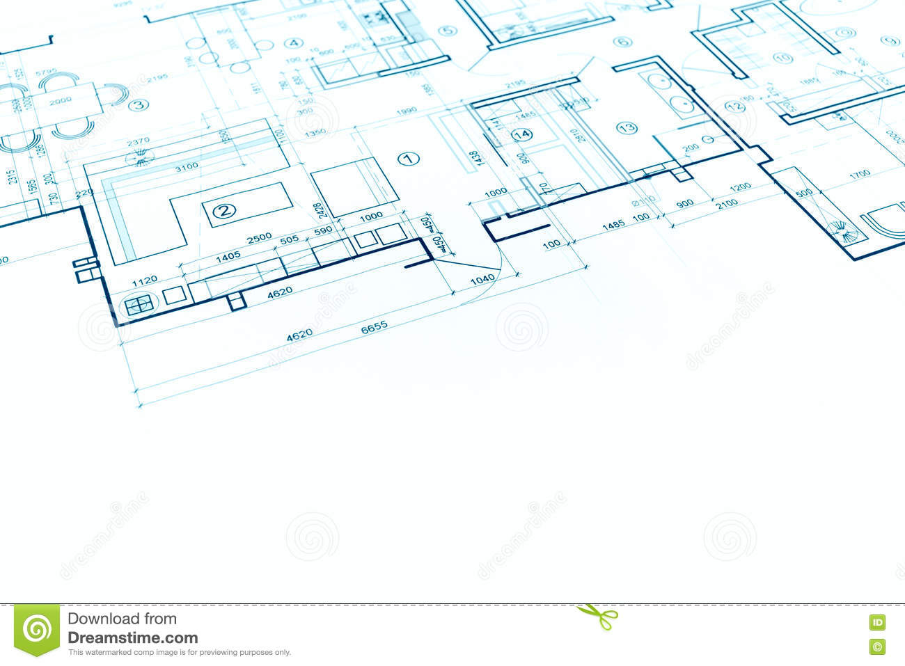 Charming Download Blueprint Floor Plan, Technical Drawing, Construction Background  Stock Photo   Image Of Home