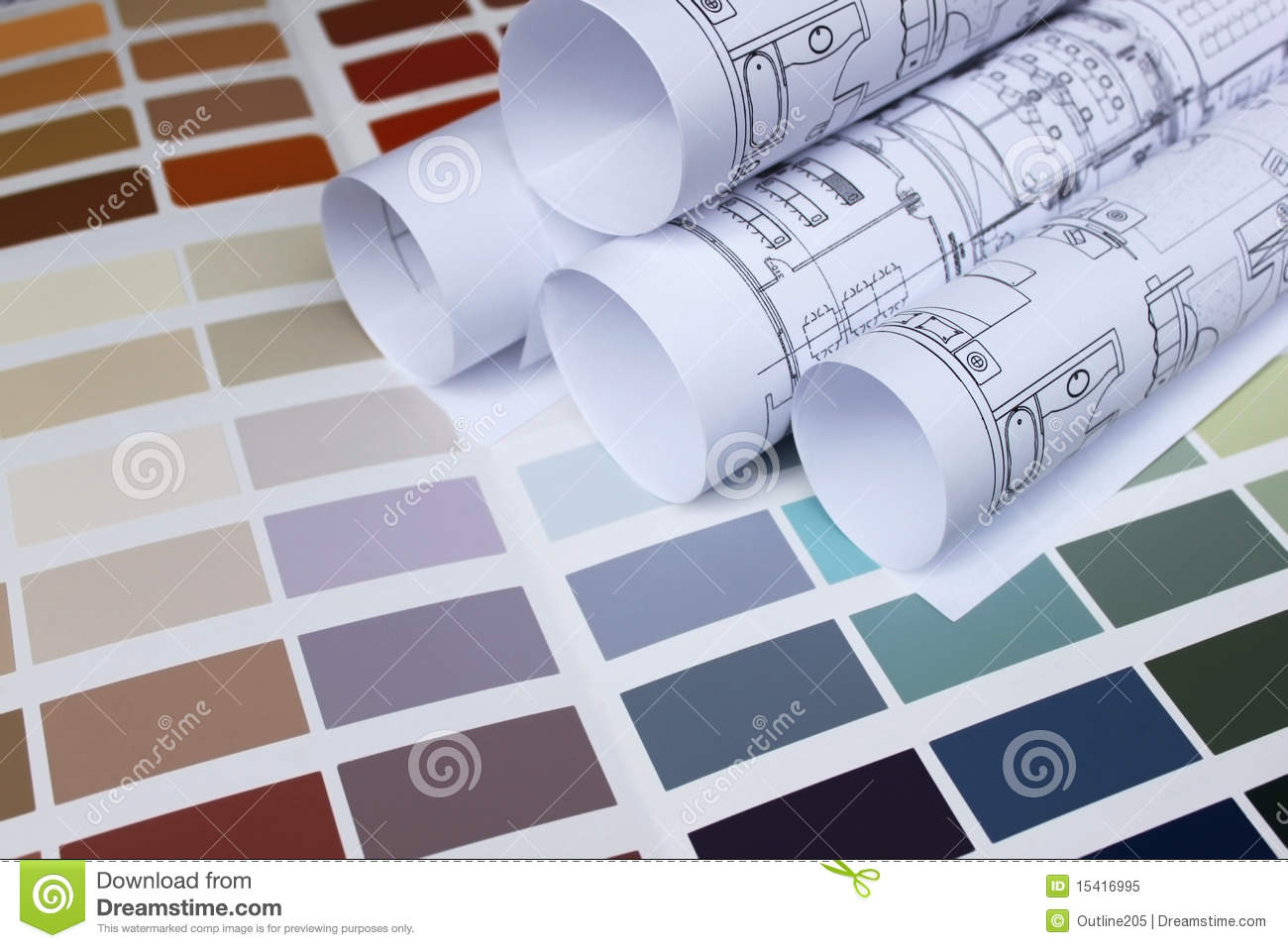 Blueprint of home and paint color palette stock image image of blueprint of home and paint color palette stock image image of beige design 15416995 malvernweather Gallery