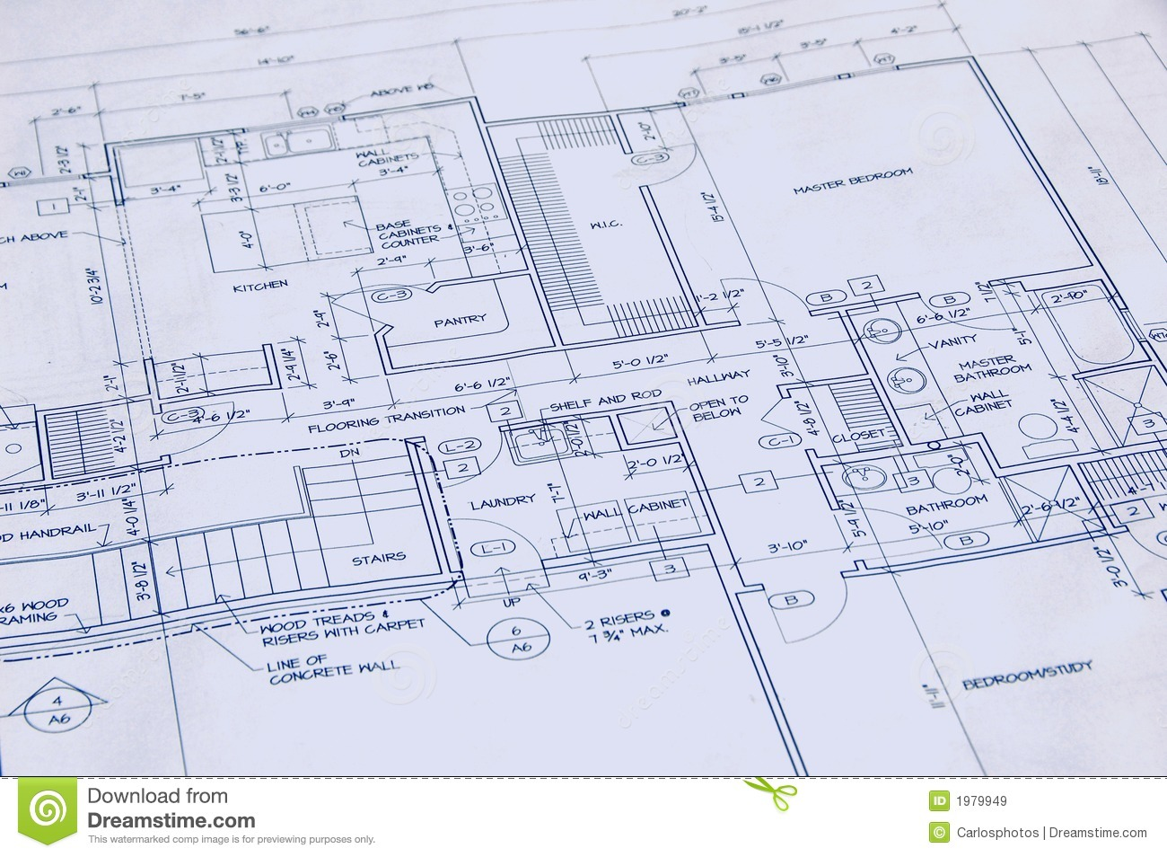 Blueprint of a house royalty free stock images image for Blueprint homes