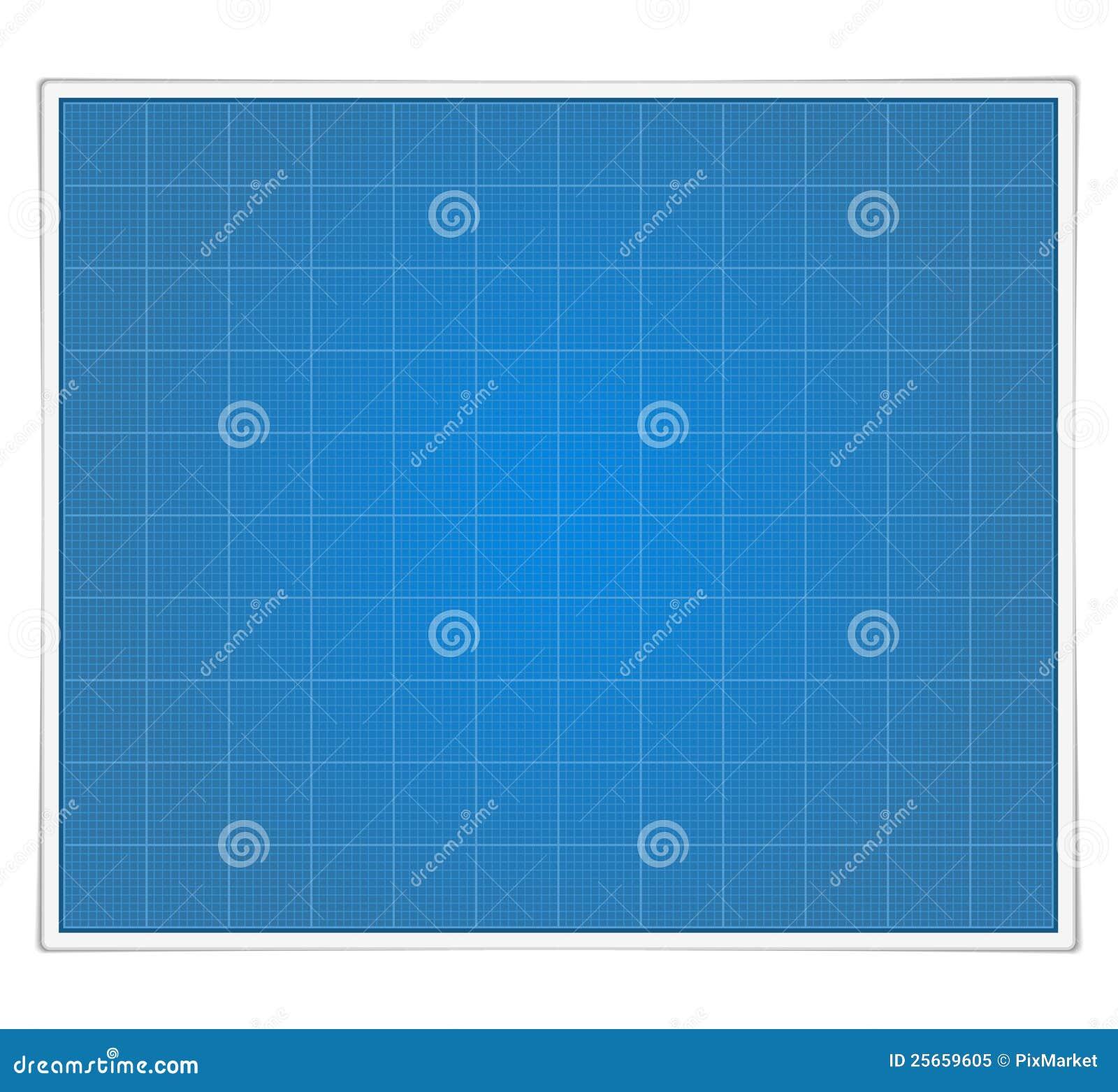 blueprint paper stock vector illustration of education 25659605