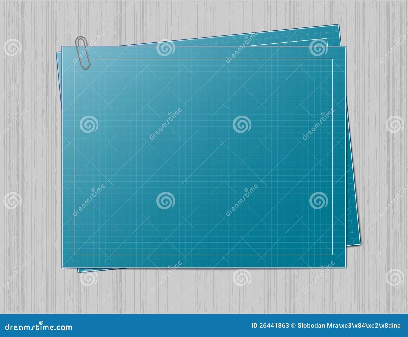 Blueprint paper on grey background stock illustration illustration download blueprint paper on grey background stock illustration illustration of blueprint blue 26441863 malvernweather Images
