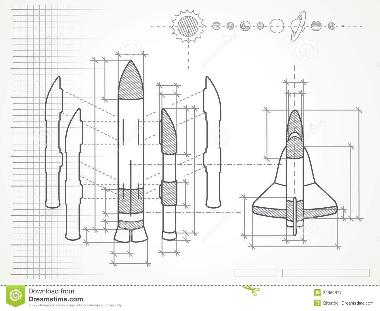 blueprint-space-shuttle-scheme-planets-38862877 What Is Schematic Knowledge on