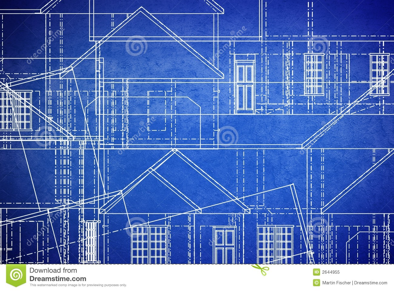Blueprints Stock Illustration Image Of Structure Figure