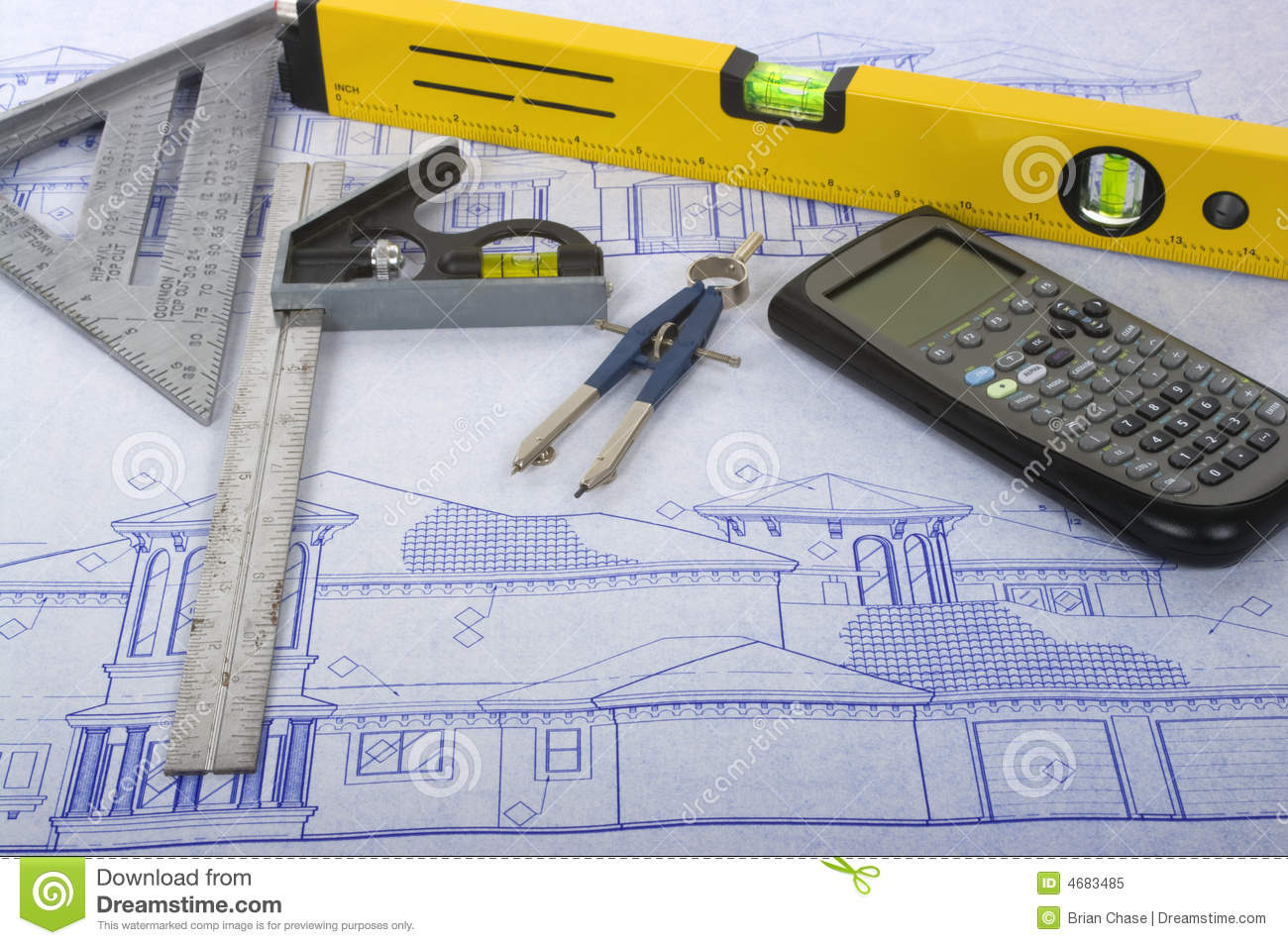 Blueprints Royalty Free Stock Photo Image 4683485