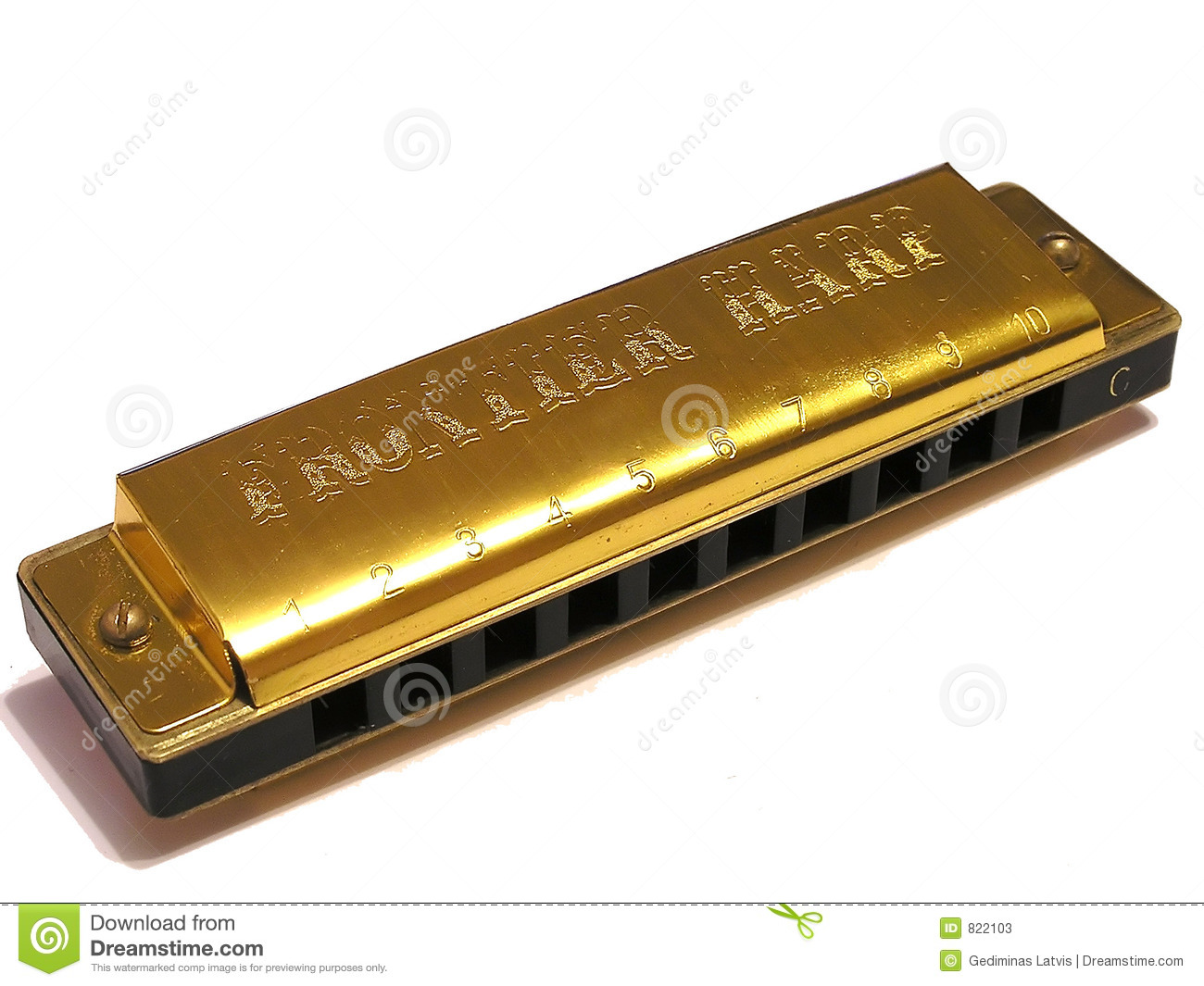 Blues Harp Stock Photos - Image: 822103