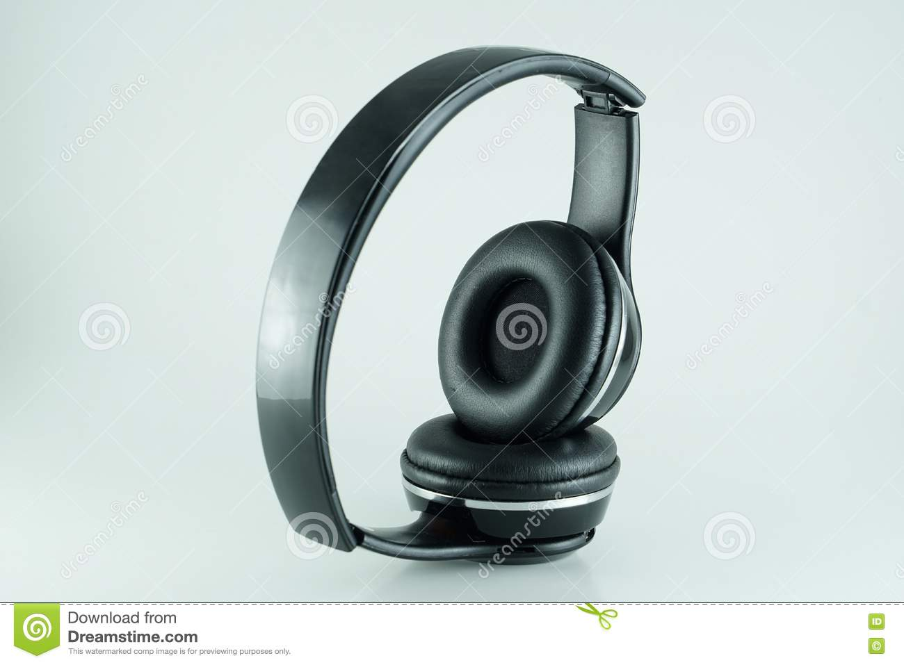 Bluetooth Headphone Stock Photo Image Of Stereo Cellphone 72851008