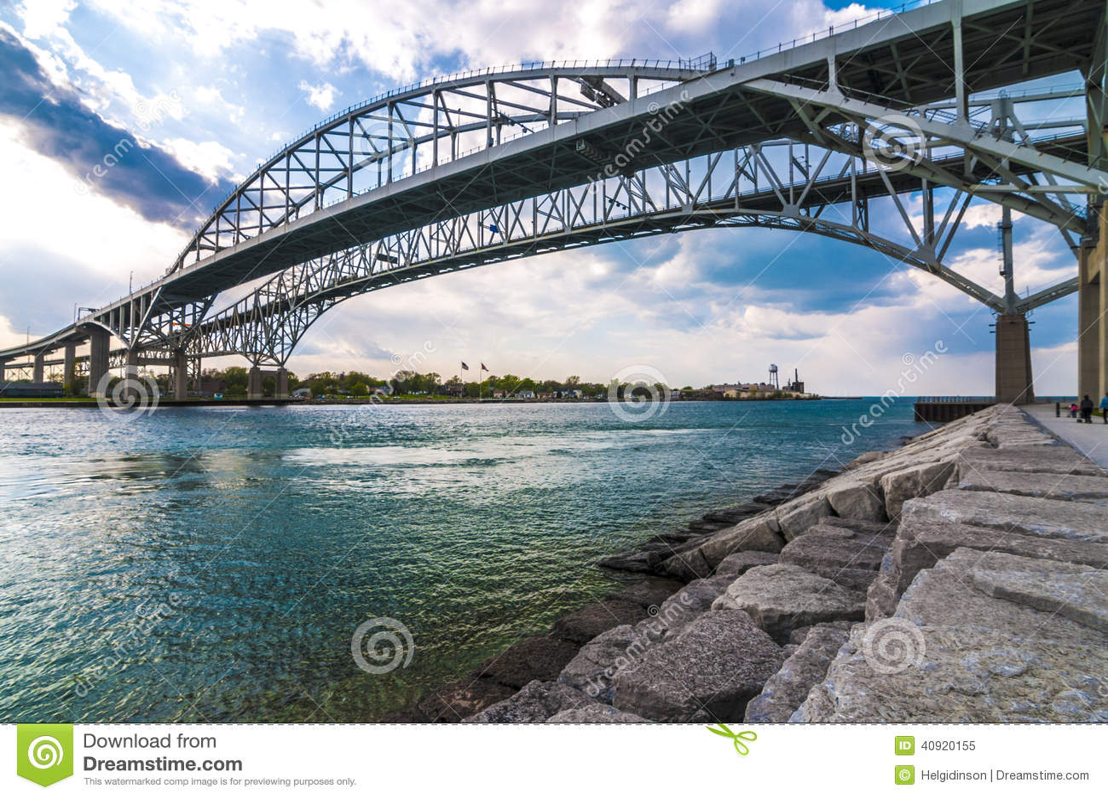 Sarnia (ON) Canada  city images : ... Crossing Bridge, Sarnia Ontario Canada Stock Photo Image: 40920155