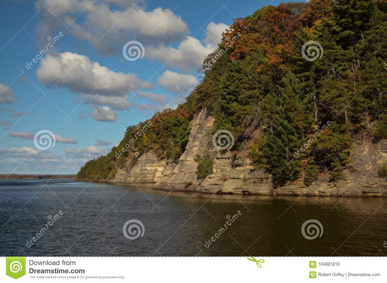 Bluffs on the Wisconsin River