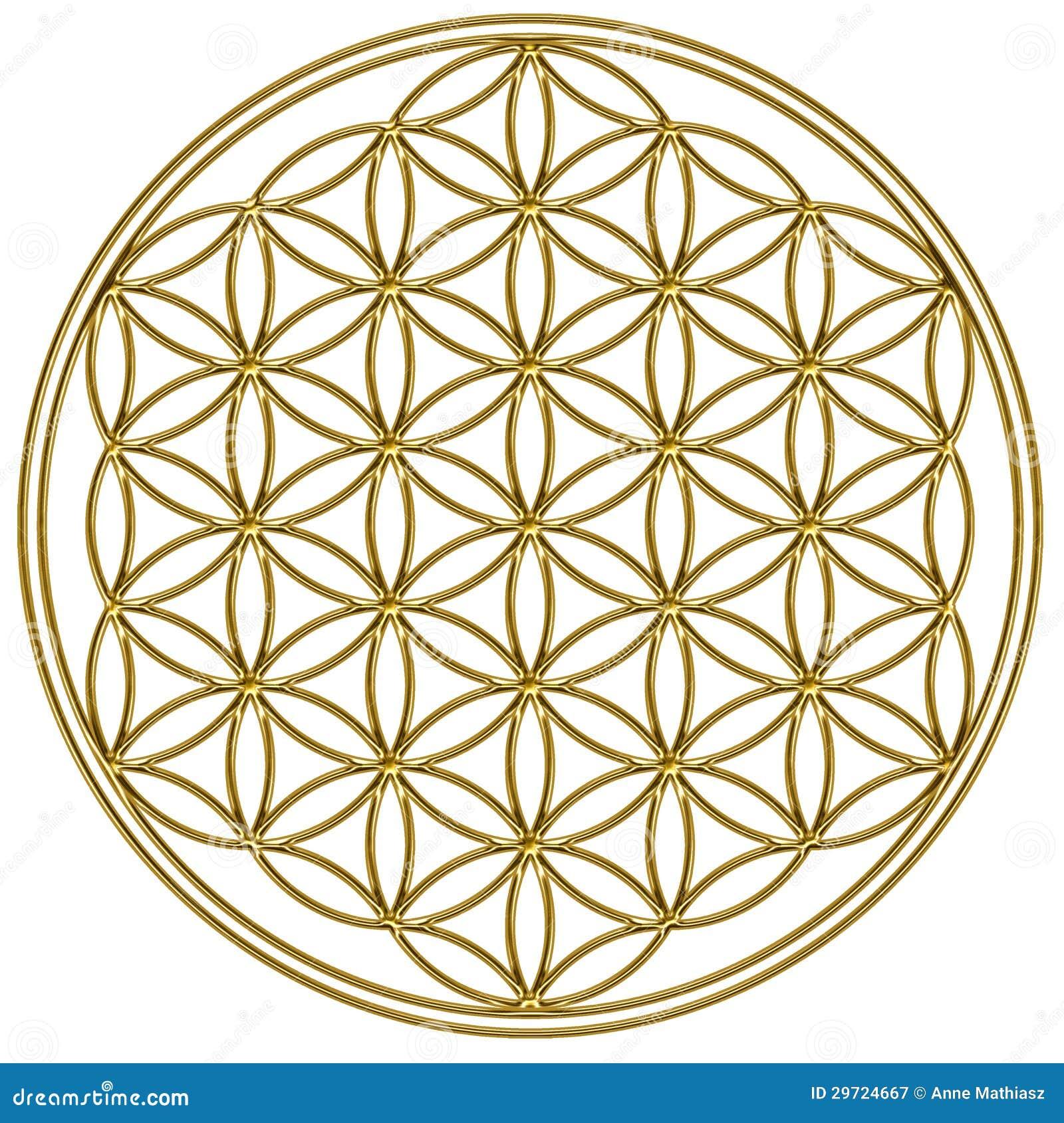 Blume des Lebens - heilige Geometrie