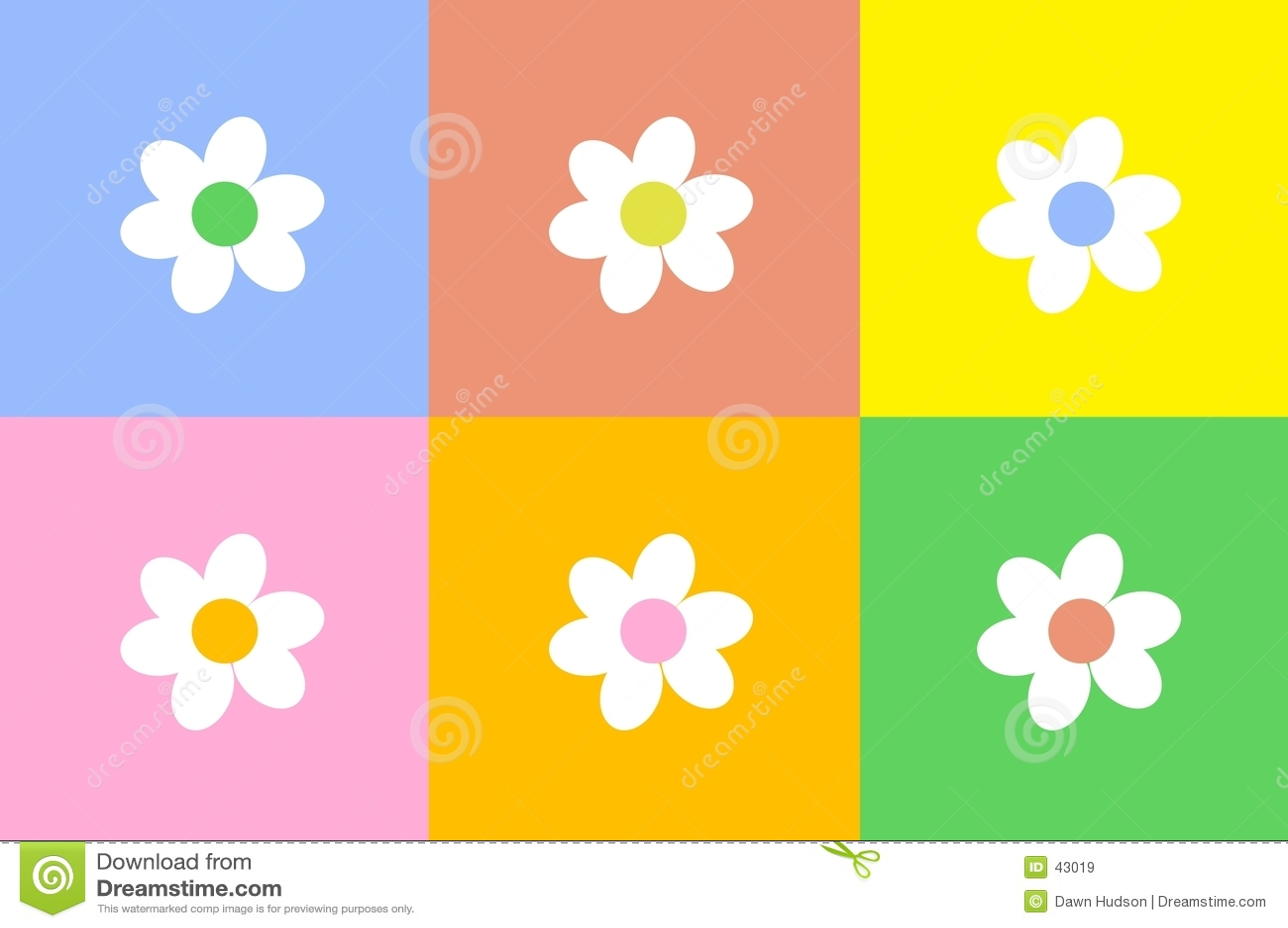 Blumen-Auslegung