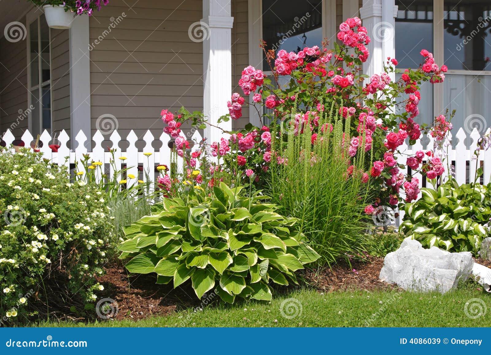 Blumen-Bett