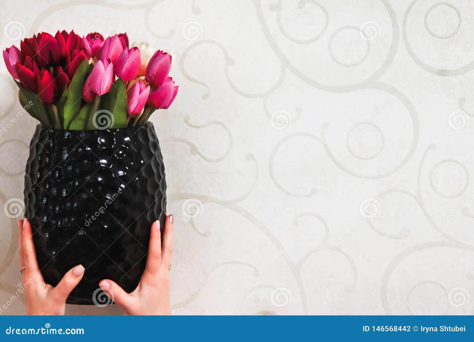 Blumen in einem Vase